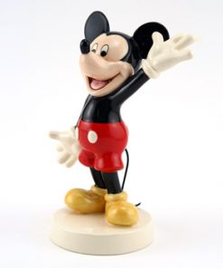 Todays Mickey MM23 - Royal Doultoun Storybook Figurine