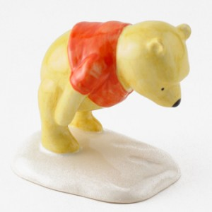 Winnie the Pooh and The Paw Marks WP3 - Royal Doultoun Storybook Figurine