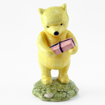 Winnie the Pooh and the Present WP18 - Royal Doultoun Storybook Figurine
