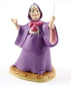 With a Wave of her Magic Wand CN4 - Royal Doultoun Storybook Figurine