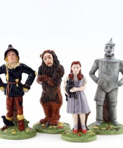 Wizard of Oz 4pc Set - Royal Doultoun Storybook Figurine