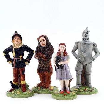 Wizard of Oz 4pc Set - Royal Doultoun Storybook Figurine