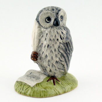 Wol Signs the Rissolution WP17 - Royal Doultoun Storybook Figurine