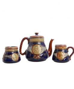 Lord Nelson Teaset  3 pc - Royal Doulton Stoneware