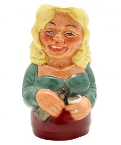 Betty Bitters the Barmaid D6716 - Royal Doulton Toby Jug