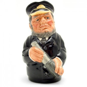 Capt. Salt the Sea Captain D6721 - Royal Doulton Toby Jug