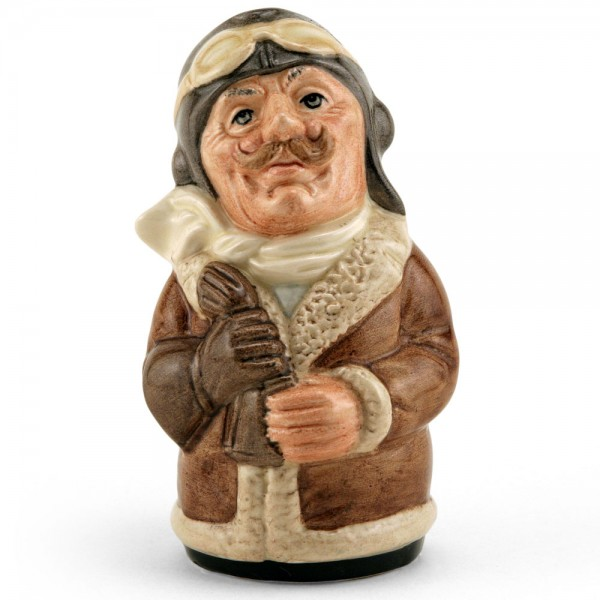 Captain Prop the Pilot D6812 - Royal Doulton Toby Jug