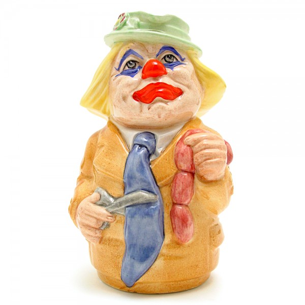 Charlie Cheer the Clown D6768 - Royal Doulton Toby Jug