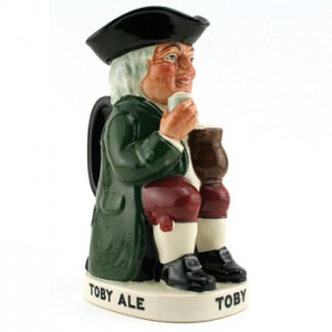 Charrington & Co. Toby (Var 1) D8074 - Royal Doulton Toby Jug