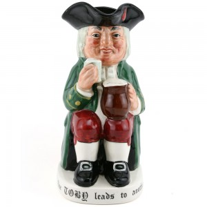 Charrington & Co. Toby (Var 2) D8074 - Royal Doulton Toby Jug