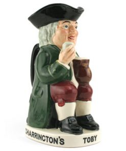 Charrington & Co. Toby (Var 3) D8074 - Royal Doulton Toby Jug