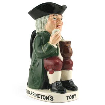 Charrington & Co. Toby (Var 3) D8074 - Royal Doulton Toby Jug