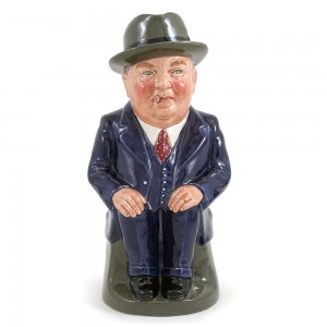 Cliff Cornell (Dark Blue Suit, Large) - Royal Doulton Toby Jug