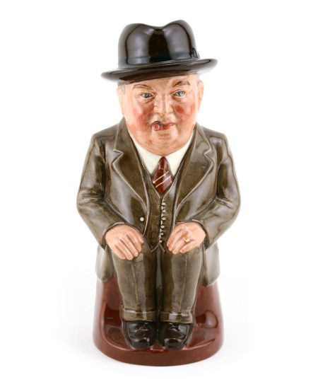 Cliff Cornell (Light Brown Suit, Large) - Royal Doulton Toby Jug