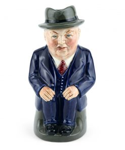 Cliff Cornell (Dark Blue Suit, Small) - Royal Doulton Toby Jug