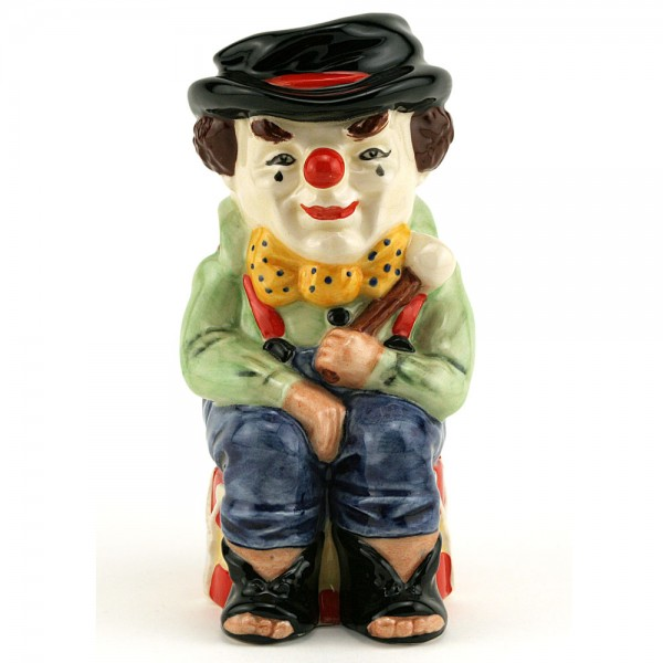 Clown D6935 - Royal Doulton Toby Jug