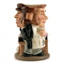 Dr. Jekyll and Mr. Hyde D7024 - Royal Doulton Toby Jug