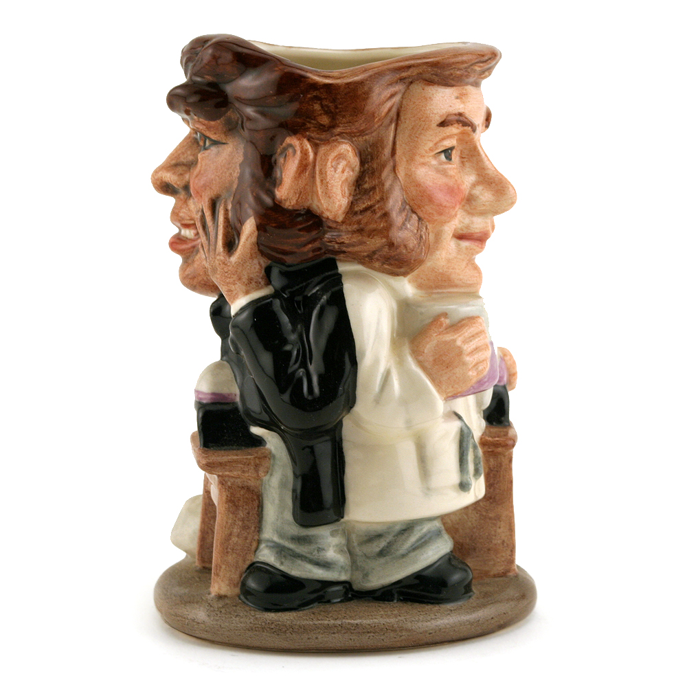 Dr. Jekyll and Mr. Hyde D7024 - Royal Doulton Toby Jug
