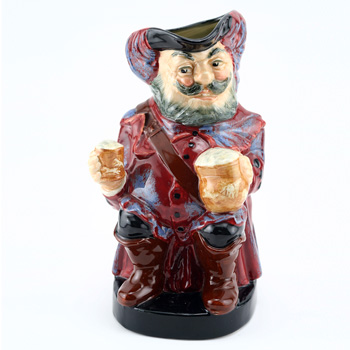 Falstaff Large D6062 (Mug Away) - Royal Doulton Toby Jug