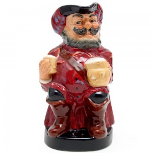 Falstaff Large D6062 (Mug Close) - Royal Doulton Toby Jug