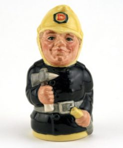 Fred Fearless the Fireman D6809 - Royal Doulton Toby Jug