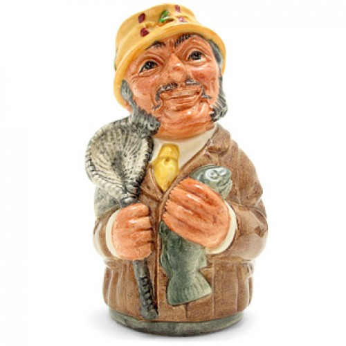 Fred Fly the Fisherman D6742 - Royal Doulton Toby Jug