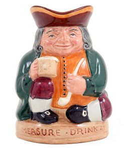 Honest Measure Small D6108 - Royal Doulton Toby Jug