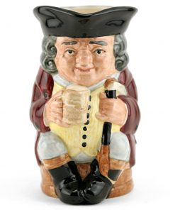 Jolly Toby White - Royal Doulton Toby Jug