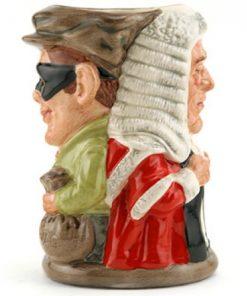 Judge and Thief D6988 - Royal Doulton Toby Jug