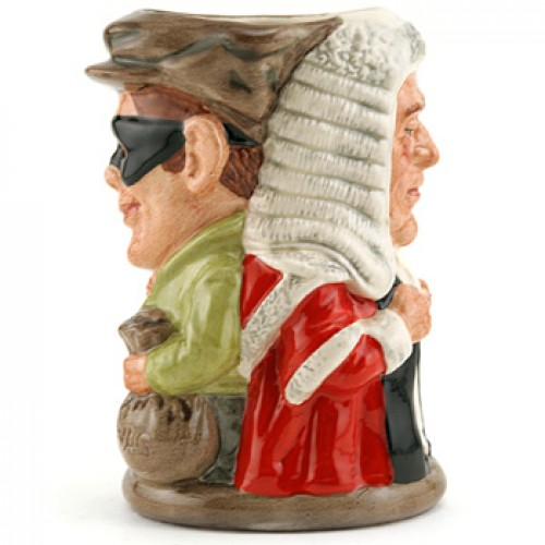 Judge and Thief D6988 - Royal Doulton Toby Jug