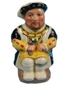 King Henry VIII D7047 - Royal Doulton Toby Jug