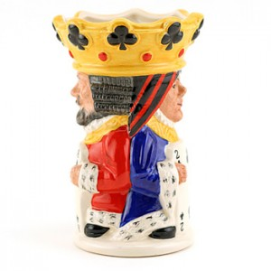 King and Queen Clubs D6999 - Royal Doulton Toby Jug