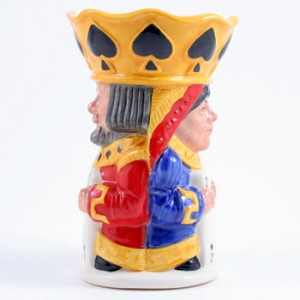 King/Queen Spades D7087 - Royal Doulton Toby Jug