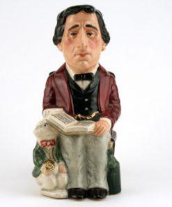 Lewis Carroll Jug D7078 - Royal Doulton Toby Jug
