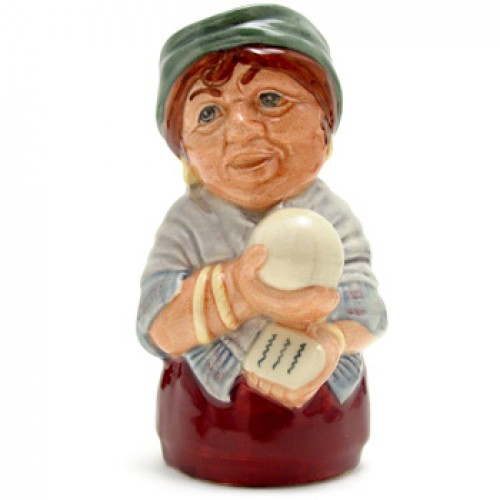 Madame Crystal the Clairvoyant D6714 - Royal Doulton Toby Jug