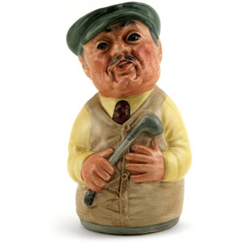 Major Green the Golfer D6740 - Royal Doulton Toby Jug
