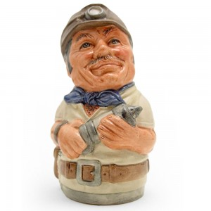 Mike Mineral the Miner D6741 - Royal Doulton Toby Jug