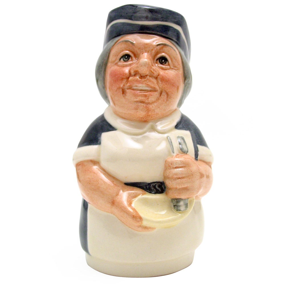 Miss Nostrum the Nurse D6700 - Royal Doulton Toby Jug