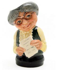 Miss Studious the Schoolmistress D6722 - Royal Doulton Toby Jug