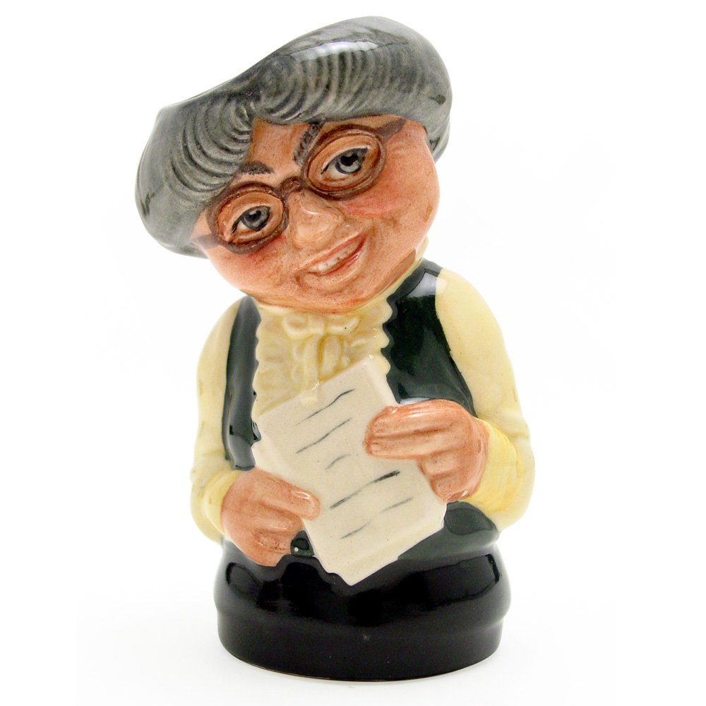 Miss Studious the Schoolmistress D6722 - Royal Doulton Toby Jug