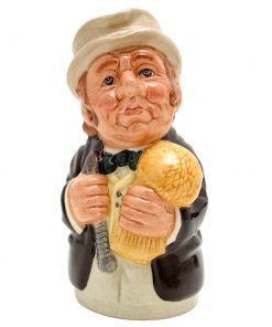 Mr. Furrow the Farmer D6701 - Royal Doulton Toby Jug
