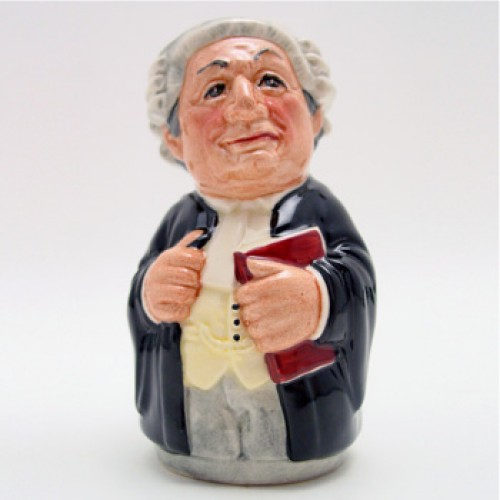 Mr. Litigate the Lawyer D6699 - Royal Doulton Toby Jug