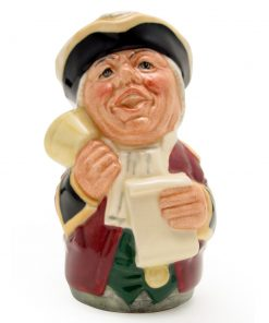 Mr. Tonsil The Town Crier D6713 - Royal Doulton Toby Jug