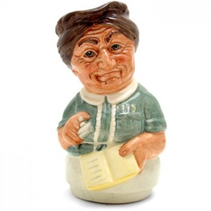 Mrs. Loan the Librarian D6715 - Royal Doulton Toby Jug