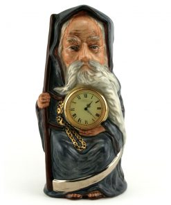 Old Father Time Clock D7069 - Royal Doulton Toby Jug