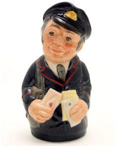 Pat Parcel the Postman D6813 - Royal Doulton Toby Jug