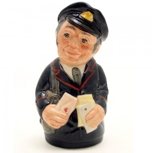 Pat Parcel the Postman D6813 - Royal Doulton Toby Jug