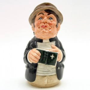 Rev. Cassock the Clergyman D6702 - Royal Doulton Toby Jug