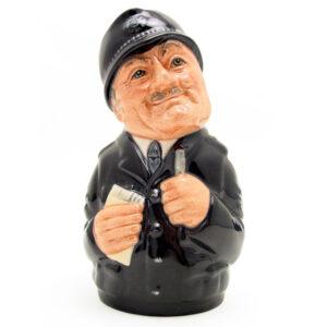 Sgt. Peeler the Policeman D6720 - Royal Doulton Toby Jug