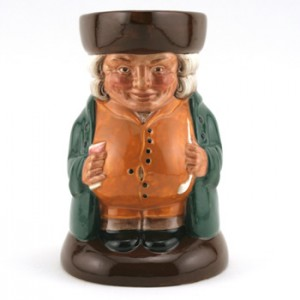 The Squire D6319 - Royal Doulton Toby Jug